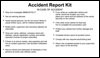 Accident Report Kit - with Camera